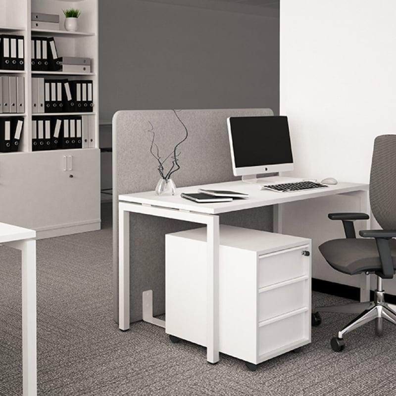 Nova-U-Bench in modern grey office