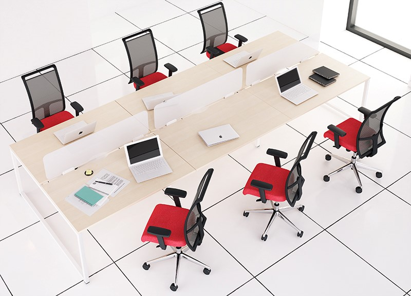 Nova_O_desks with office chairs