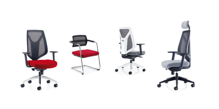 multiple office chairs