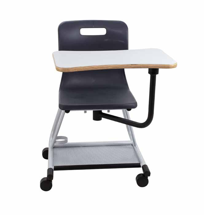 titan teach chair light black