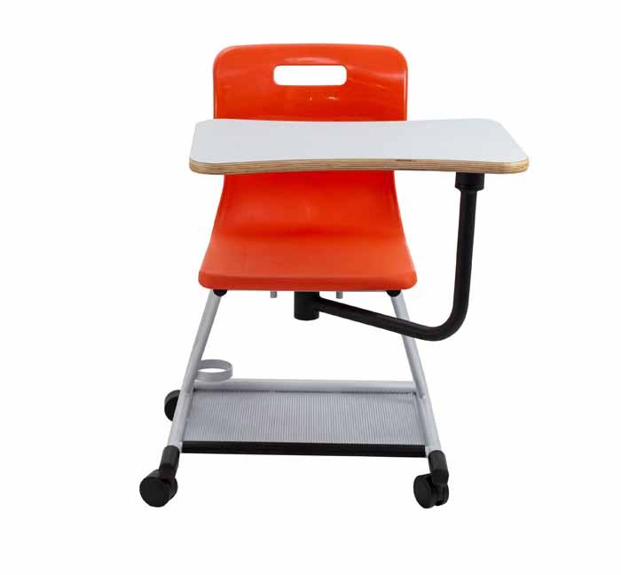 titan teach chair red