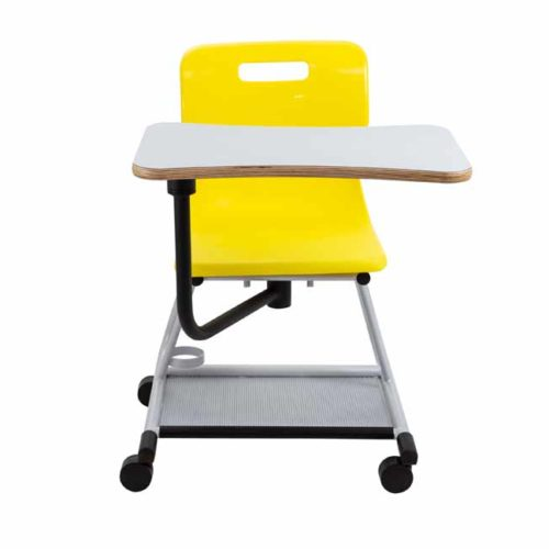 titan teach chair yellow