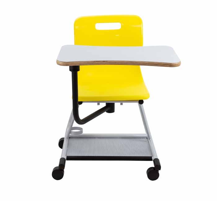 titan teach chair yellow