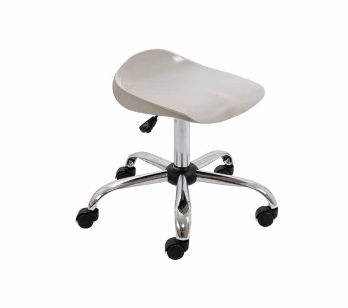 swivel stool T33_GR_FRONT_45