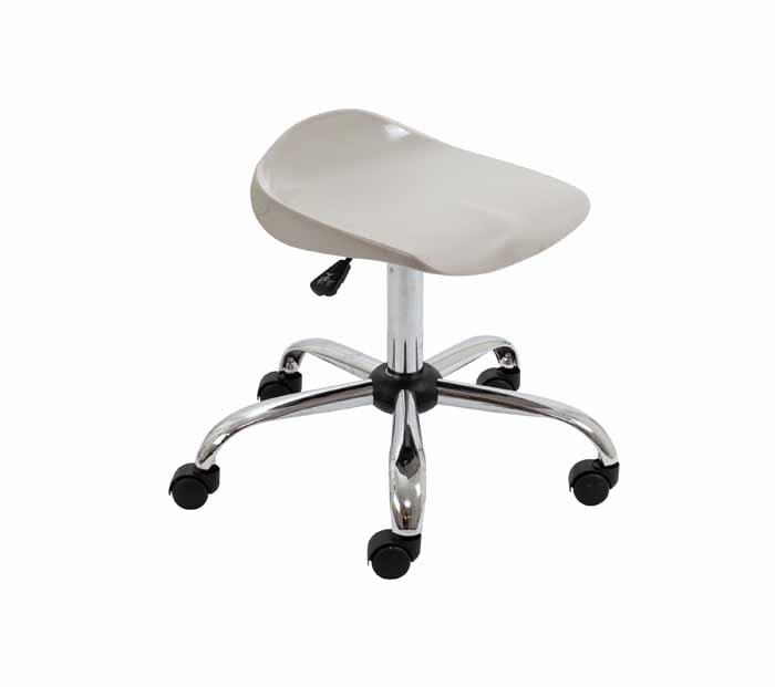 swivel stool T33_GR_FRONT_45