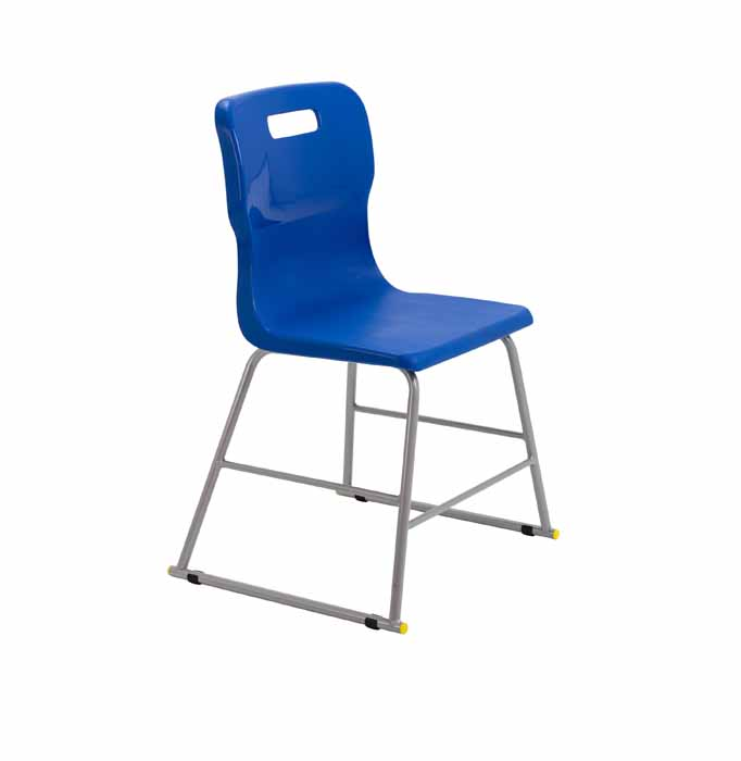 Titan skid chair royal blue