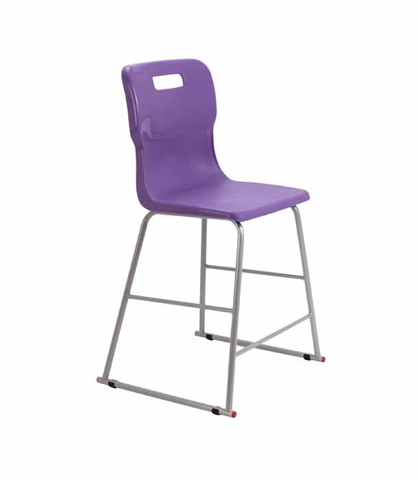 purple Titan skid chair