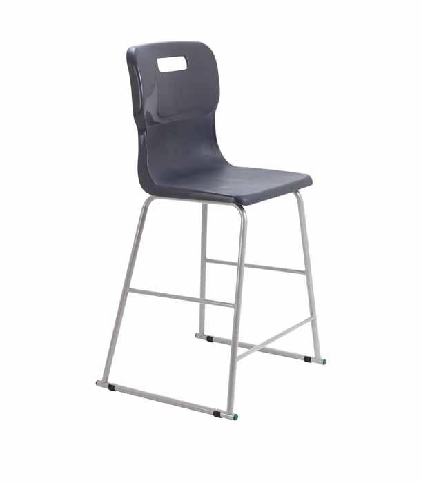 black Titan skid chair