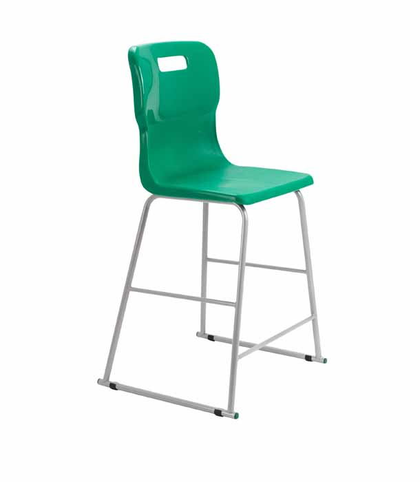 Forest Green Titan skid chair