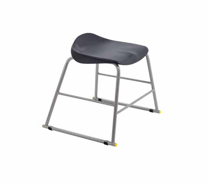 black stool