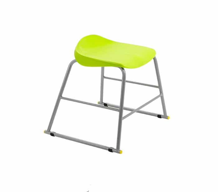 lime green stool
