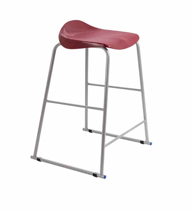 stool dark red