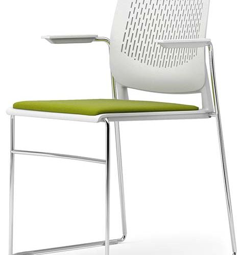 pledge chairs vibe green and white