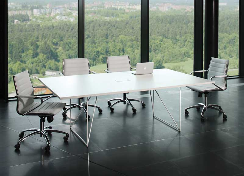 Air table-conference table