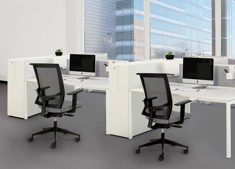 Eva Task chairs in contemporary office