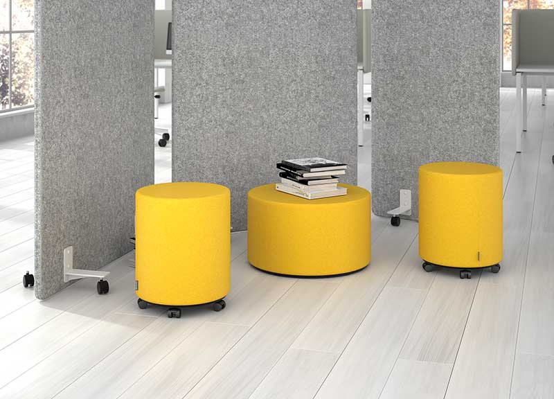 Giro soft seating in breakout area