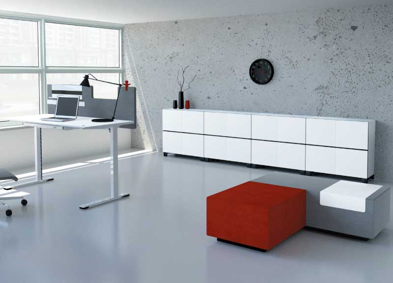 Jazz soft seating in an office