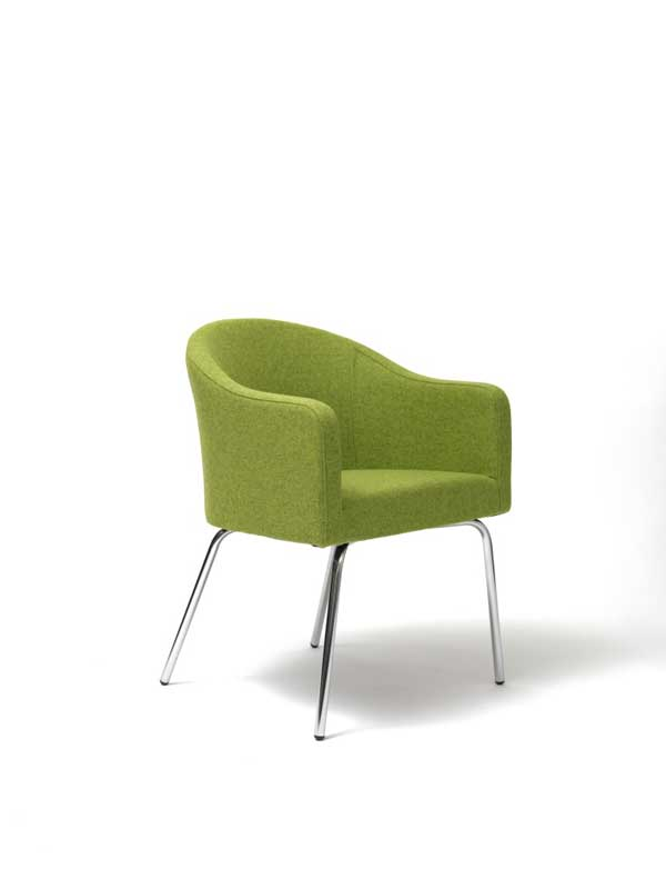 Luna Chair with legs