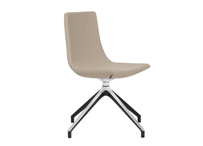 North Cape chair in cream with no arms