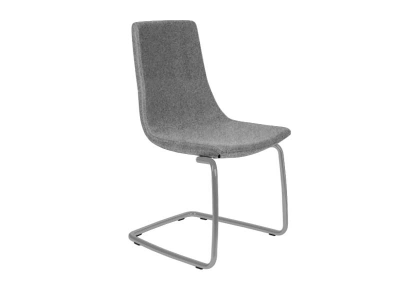 North Cape chair in grey with no arms