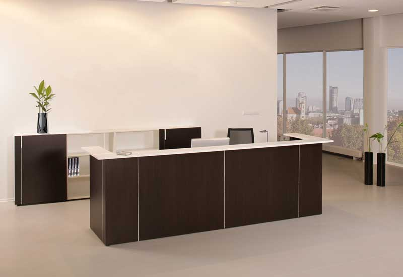 Nova Reception Desk in office