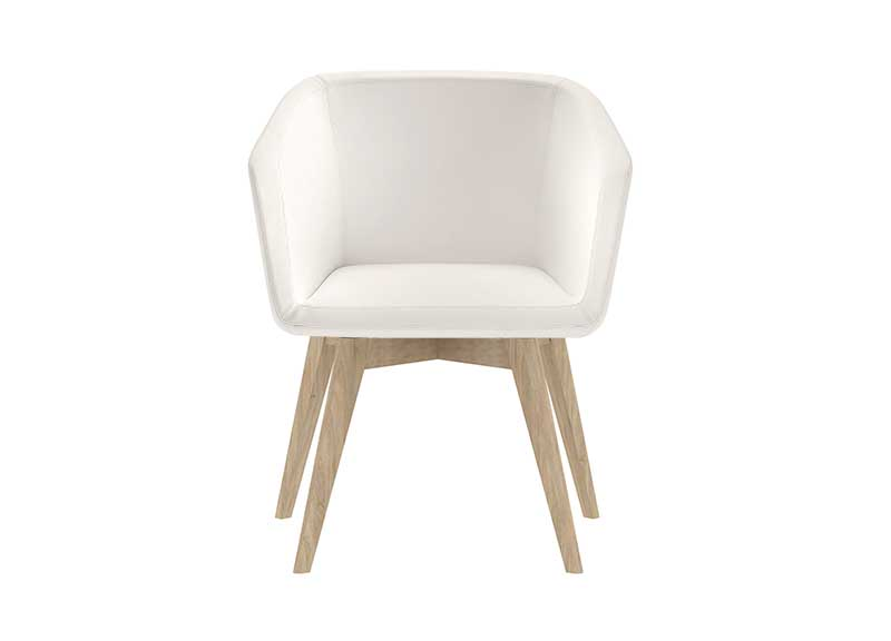 Tula chair in white