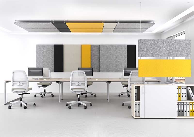 Sail Task chairs in a modern office