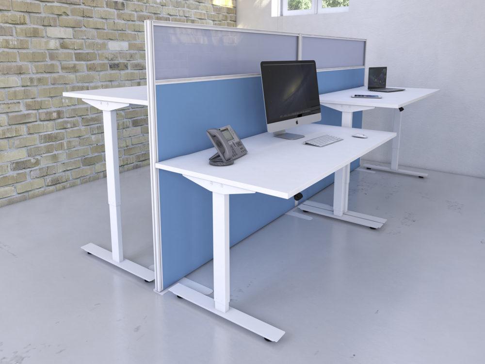 Freedom height adjustable desk