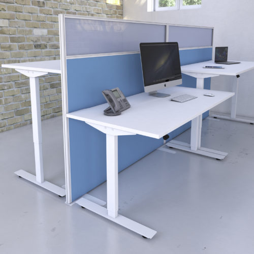 Freedom height adjustable desk