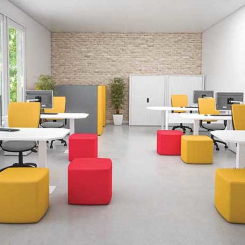 fresh collection soft seating stools