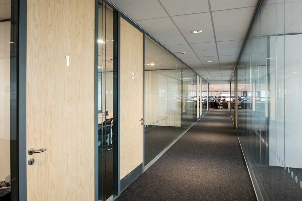 office partitions by applied workplace